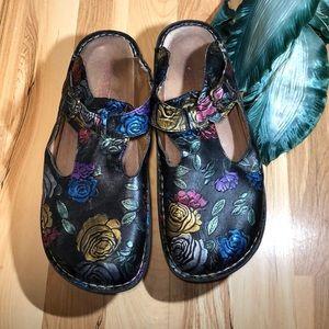Alegria Leather Sandals